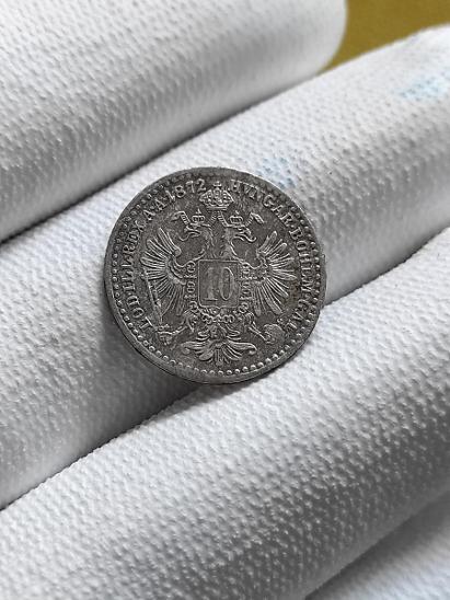 10 Krejcar 1872 bz / František Josef I - Numismatika