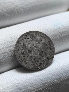10 krejcar 1870 bz / František Josef I