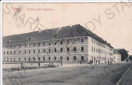 Terezín, velká pěší kasárna