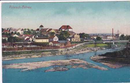 Polská Ostrava dříve Slezská,částečný pohled na mě