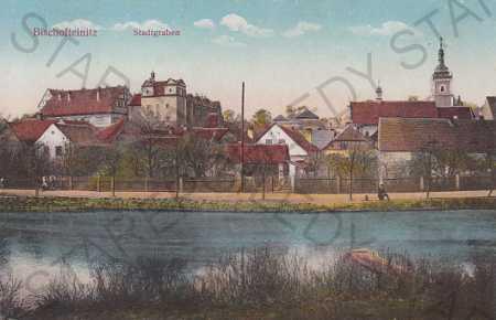 Horšovský Týn Domažlice Šumava částečný pohled