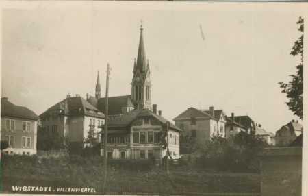 Vítkov (Wigstadtl), kostel