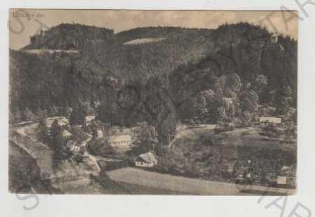 Ústí nad Orlicí, Litice nad Orlicí, Pohled na měst - Pohlednice