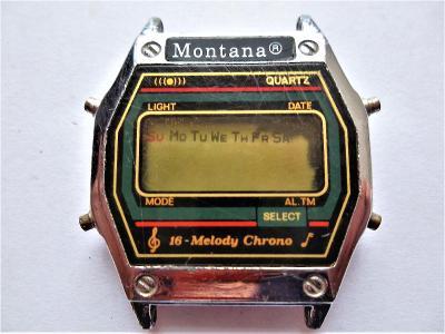 Náramkové hodinky Montana Quartz-*6-254
