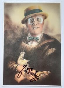 Autogram Jiří Suchý