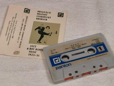 Audio Kazeta ORIGINALNI PRAžSKY SYNKOPICKY ORCH. Jazz aHot Dance Music