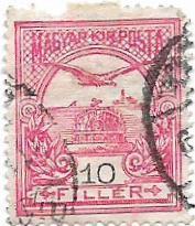 Známka Maďarska od koruny - strana 7