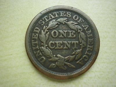 USA 1 CENT - VELKÝ CENT 1/1 1848  -  NÁDHERA !!!!!!!  RR