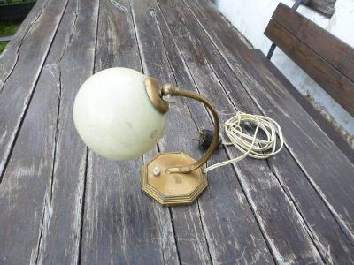Stará stolní lampička