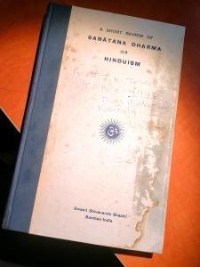 A short review of SANATANA DHARMA or HINDUISM