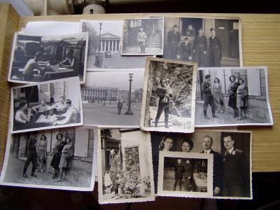 Různé fotky německých vojáků z 2 války