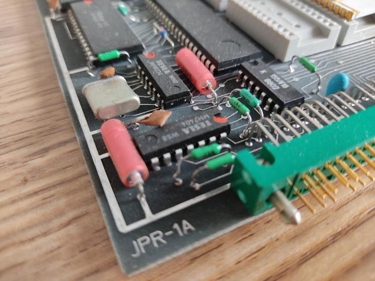 SAPI-1 / deska JPR-1 / TESLA  - Historické počítače
