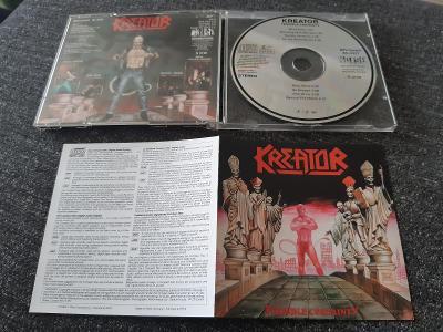 CD KREATOR - TERRIBLE CERTAINTY 1987 TRASH METAL GERMANY