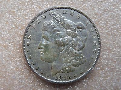 USA Dolar 1878 - samozřejmě originál