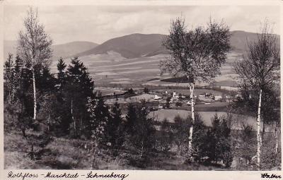 ROTHFLOSS - MARCHTAL - Králíky - Ústí nad Orlicí - feldpost - 1940
