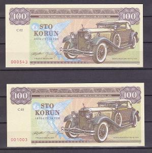 BANKOVKY - Isotta Fraschini Tipo 8A, 1929, SÉRIE C02 + C03 č. 543,1003