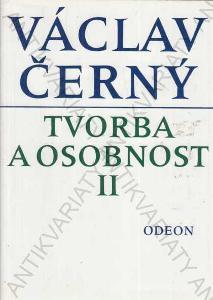 Václav Černý tvorba a osobnost II 1993 Odeon,Praha