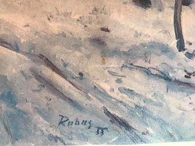 stary obraz Václav Rabas