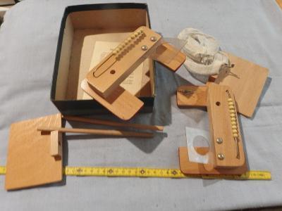 Stará dětská dřevěná hra - KOŠÍKOVÁ