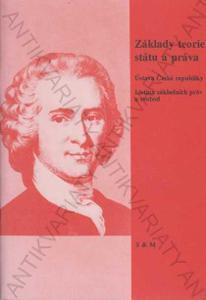 Základy teorie a práva státu Učeb.text pro SŠ 1998