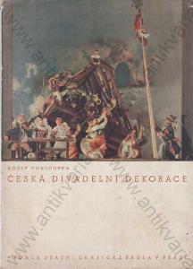 Česká divadelní dekorace Adolf Chaloupka 1939