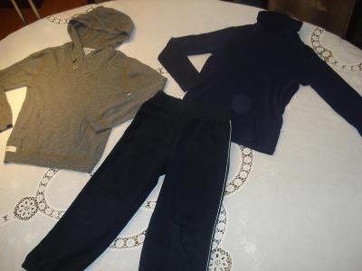 Dětské oblečení chlapecké vel. 116 (5-6 let) sada