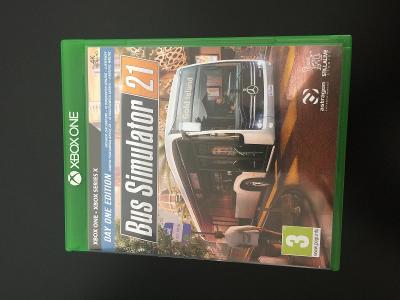 Bus Simulator hra na x-box one, x-box one X.