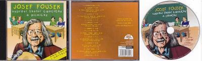 CD - Josef Fousek vypráví školní cancičky a písničky - 2004