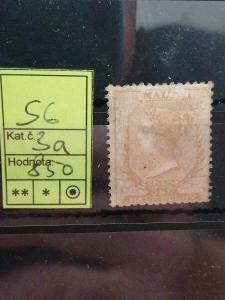 Britské/Anglické kolonie-Malta SG 3a, čistá (A135)