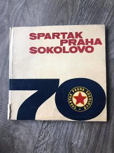 KNIHA 70 let Spartak Praha Sokolovo - 1893-1963 PUBLIKACE DOBOVÉ FOTO