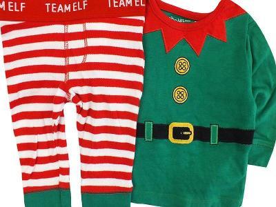 JAKO NOVÝ! Prima vánoční, bavlněný setík F&F, vel.62