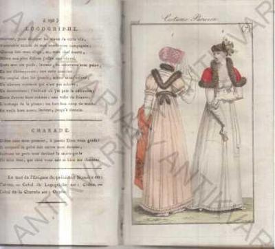 Journal des dames et des modes 1806 móda
