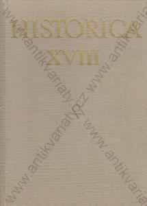 Historica XVIII Academia, Praha 1973