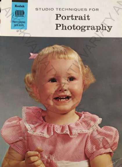 Portrait Photography Studio Technoques, Kodak - Knihy