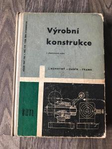 VÝROBNÍ KONSTRUKCE NOVOTNÝ DUDÍK FRANK 1963