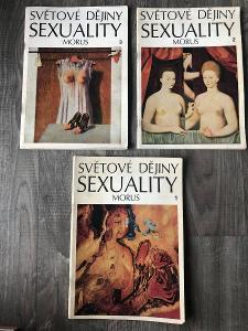 SVĚTOVÉ DĚJINY SEXUALITY DÍL PRVNÍ AŽ TŘETÍ (VYDÁNÍ 1969 )