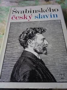 Švabinského český slavín. 1973 1.vyd.