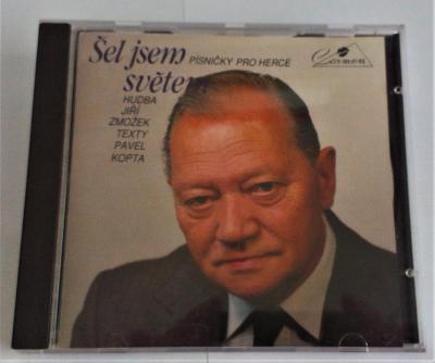 CD Šel jsem světem, písničky pro herce