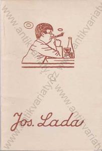 Knižní značky národního umělce Josefa Lady 1955
