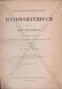 Hebr. und chassid. Handwörterbuch 2. díl 1863