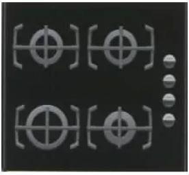 Plynová sklokeramická varná deska Electrolux