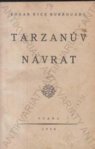 Tarzanův návrat Edgar Rice Burroughs 1920 Praha