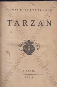Tarzan  Edgar Rice Burroughs 1920 Praha