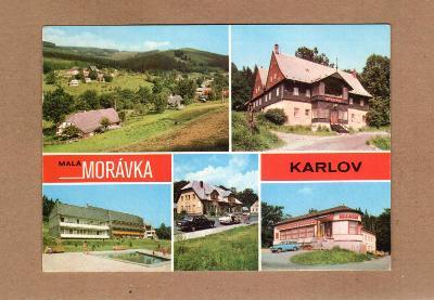 MALÁ MORÁVKA - KARLOV...JESENÍKY...STAV DLE FOTA (5)