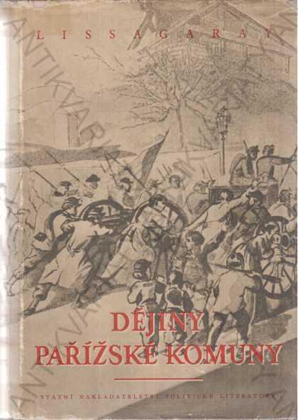Dějiny pařížské komuny z roku 1871 - Knihy