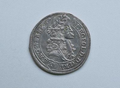 LEOPOLD I - XV KREJCAR 1681 KB !!! SUPER XV-8