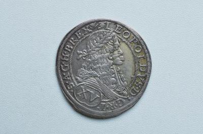 LEOPOLD I - XV KREJCAR BRATISLAVA 1674 !!! SUPER A VZÁCNÝ XV-10