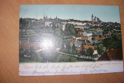 Jihlava - staré město - 1900