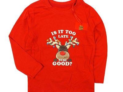 NOVÉ! Sobíčkové, vánoční tričínko Primark, vel.98