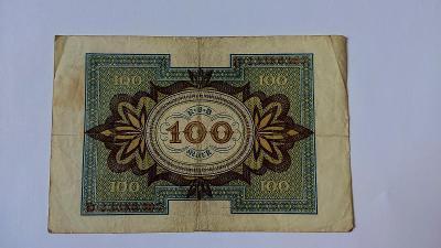 Německo 100 mark 1920 od 1 Kč